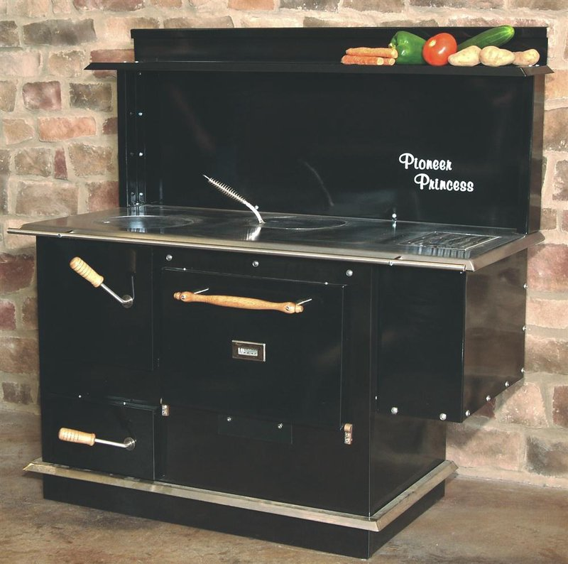 Baker's Choice Wood Cookstoves. $1,999.00. Pioneer Princess Wood Cookstove - Wood Burning Cookstoves Lehman's