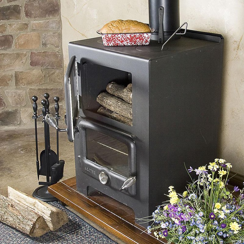 Baker's Oven Wood Heat/Cook Stove - Wood Burning Cookstoves Lehman's