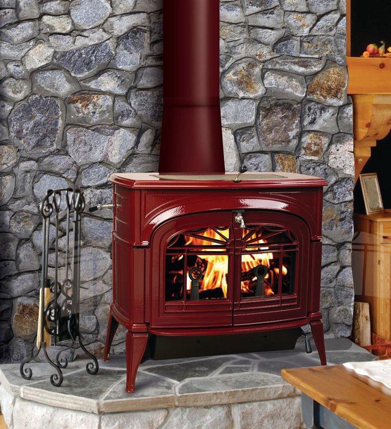 Encore Flex Burn Catalytic/Non-Catalytic Wood Stove, Heatstoves - Lehman's - Encore Flex Burn Catalytic/Non-Catalytic Wood Stove, Heatstoves