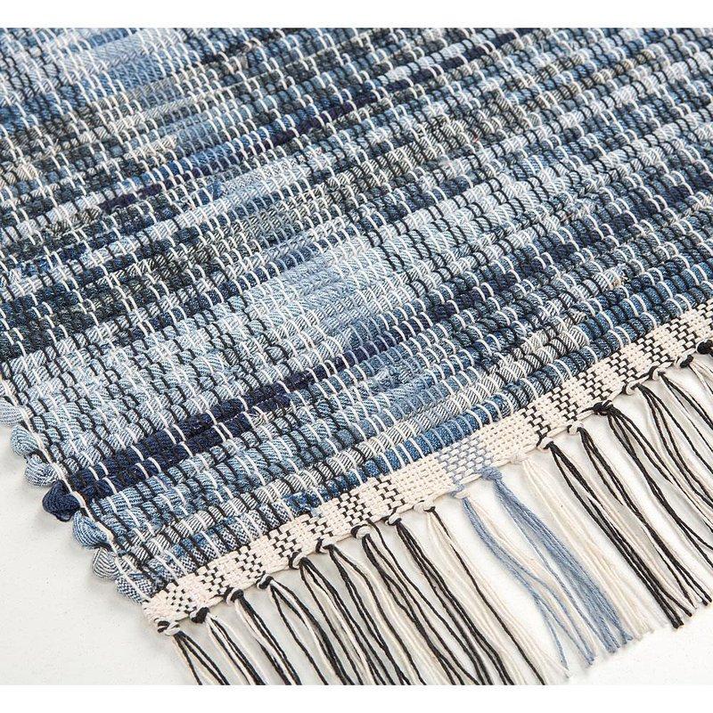 Tough Woven Denim Rug, Home Textiles