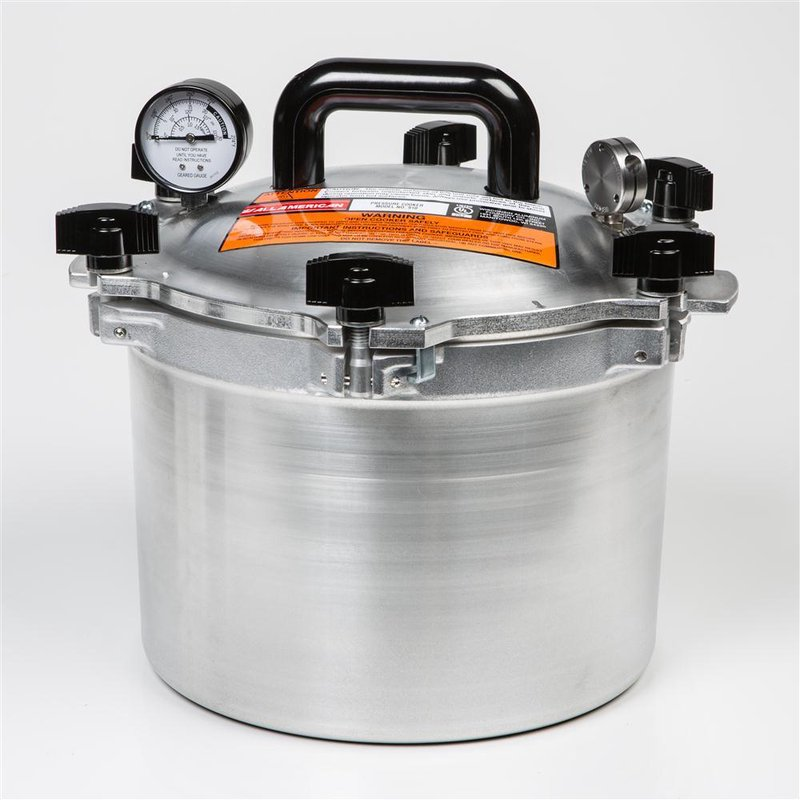15-1/2 Qt High-Quality Pressure Canner - SALE $259.99 - SHOP NOW