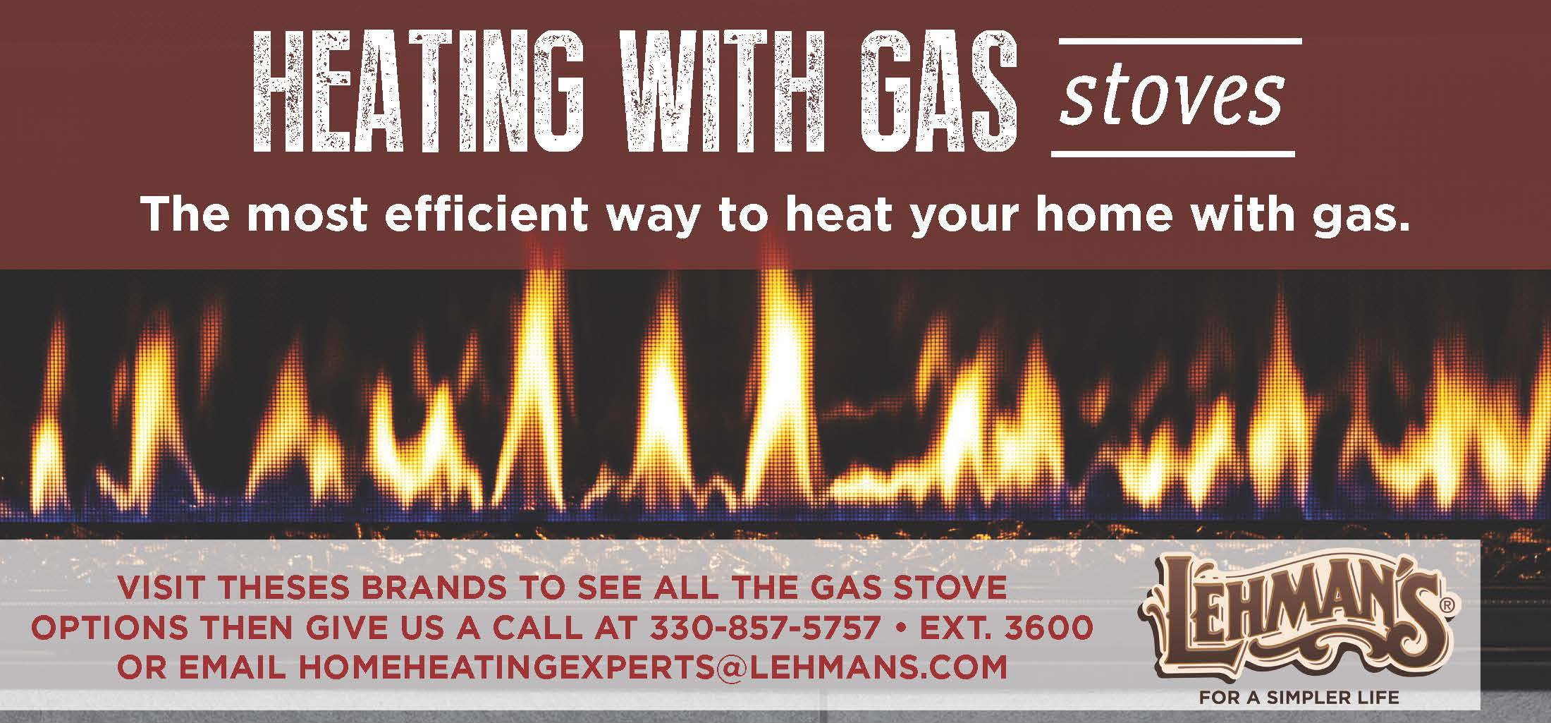 Heating with Gas Stoves