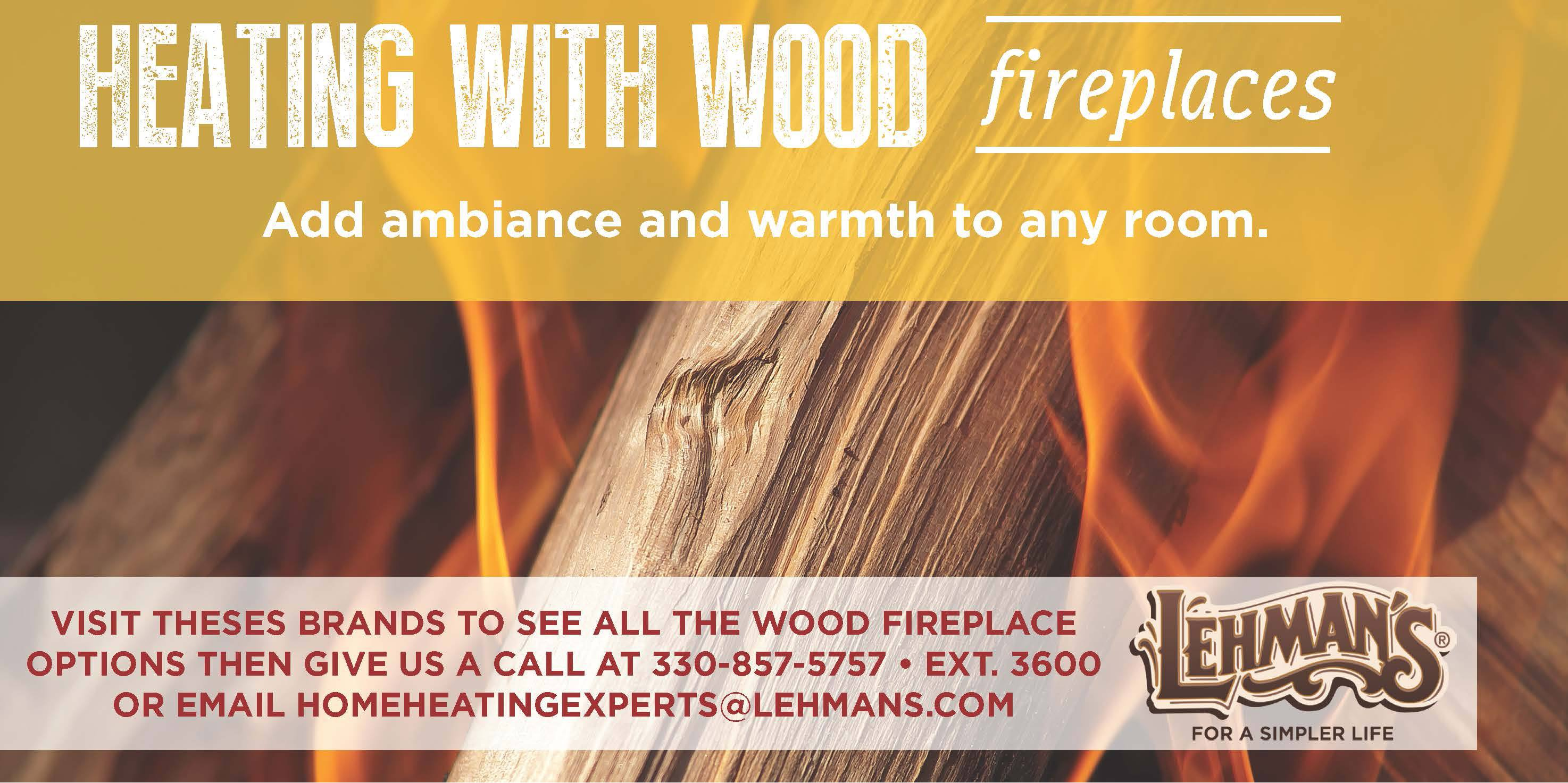 Heating with Wood Fireplaces