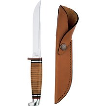 "Case Stainless Fixed 5"" Blade with Sheath"