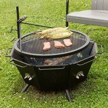 Backyard Fire Pit Grill