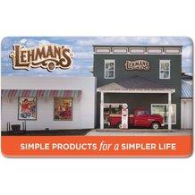 Lehman's Gift Card