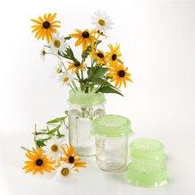 Flower Frog Caps for Jars