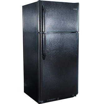 Diamond Elite (19 cu ft) Gas Refrigerators - Black