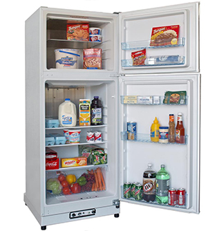 Diamond Quest (14 cu ft) Gas Refrigerators