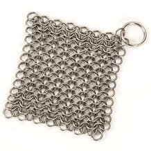 Chainmail Scrubber for Cast Iron
