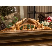 Handcrafted Wooden Nativity - Large