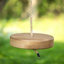Old-Fashioned Tree Swing - Round Style