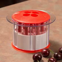 Splatter-Free Cherry Pitter
