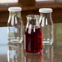 Glass Pint Milk Bottles