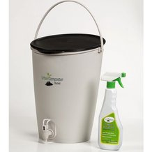 Urban Composter Bucket with Accelerator Spray
