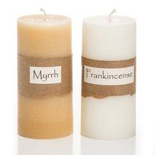 Frankincense and Myrrh Candles