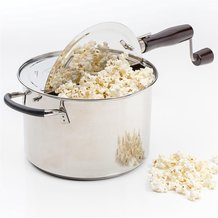 Victorio Stainless Steel Stovetop Popcorn Popper