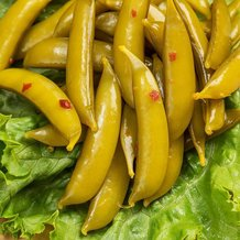 Pickled Snap Peas