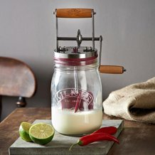 Kilner Butter Churn