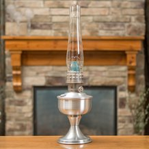 Aladdin Aluminum Table Oil Lamp