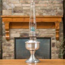 Aladdin Aluminum Table Oil Lamp
