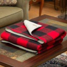 Sherpa Rough Rider Wool Blanket