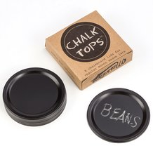 Chalkboard Lids for Canning Jars