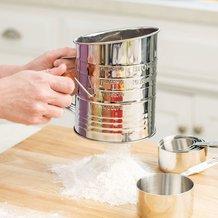 Original Bromwell Flour Sifter