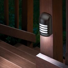 Motion-Sensing Deck Light
