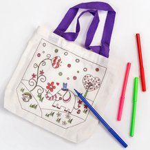 Color Your Own Tote Set