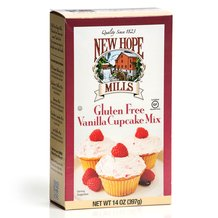 Gluten-Free Vanilla Cupcake Mix