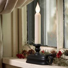 White-Light Cordless Window Candle
