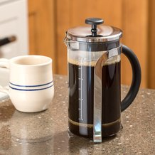 Glass French Press - 8 Cup