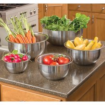 Supreme Stainless Steel Mixing Bowls