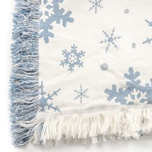 Snowflake Throw