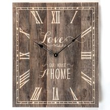 House a Home Wall Clock