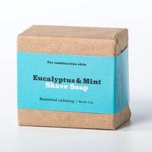 Natural Eucalyptus and Mint Shaving Soap