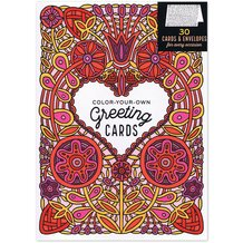 Color Your Own Greeting Cards Set