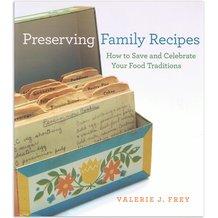 Preserving Family Recipes Book