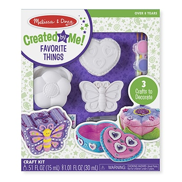 Decorate Your Own Favorite Things Kit