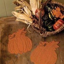Pumpkin Vine Doilies