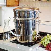 11 Liter Stainless Steel Steam Juicer