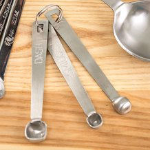 Dash, Pinch, Smidgen Measuring Spoons