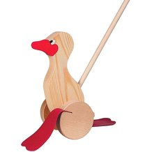 Floppy-Feet Push Duck
