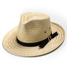 Sunset Straw Hat - Pinched Front