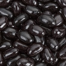 Jumbo Black Licorice Jelly Beans