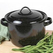 Enamelware Bean Pot