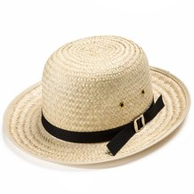 Sunset Straw Hat - Boys' Round