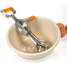 Vintage-Style Egg Beater