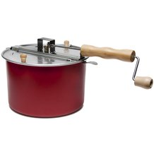 Red 6 Qt Popcorn Popper